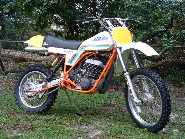 Rick Fox KTM 495 1981